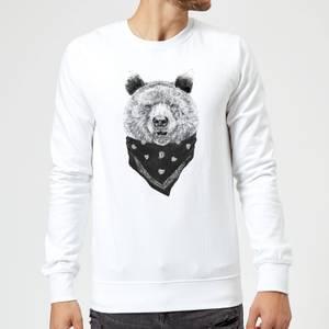 Balazs Solti Bandana Panda Sweatshirt - White
