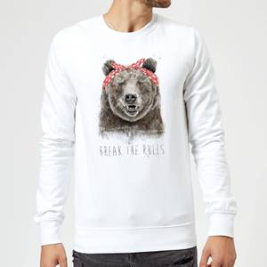 Balazs Solti Break The Rules Sweatshirt - White