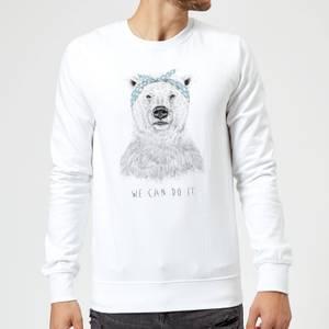 Balazs Solti We Can Do It Sweatshirt - White