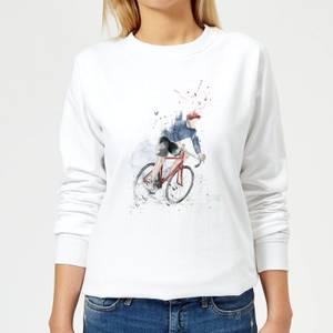 Cycler Women's Sweatshirt - White