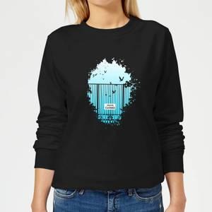 Heavens Closed Women's Sweatshirt - Black