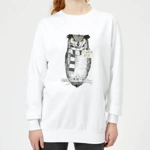 It's Winter, Bitch! Women's Sweatshirt - White