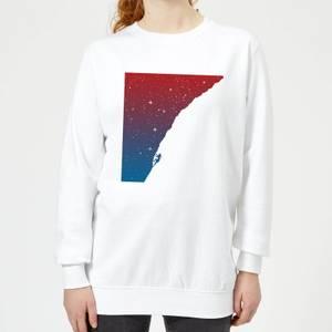 Starry Climb Women's Sweatshirt - White
