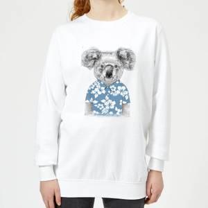 Koala Bear Women's Sweatshirt - White