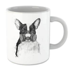Balazs Solti Masked Bulldog Mug