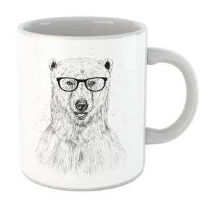 Balazs Solti Polar Bear And Glasses Mug