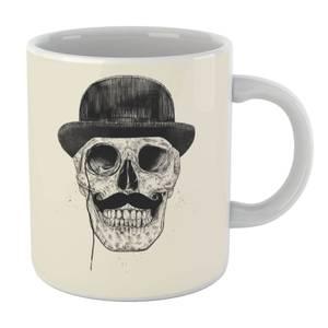 Balazs Solti Monocle Skull Mug