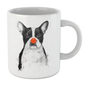 Balazs Solti Red Nosed Bulldog Mug