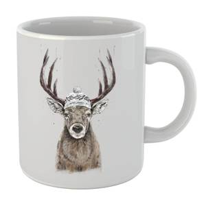 Balazs Solti Winter Deer Mug