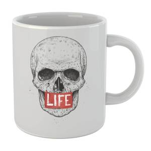 Balazs Solti Life Skull Mug