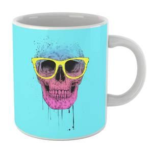 Balazs Solti Skull And Glasses Mug