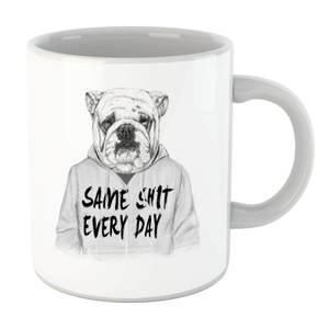 Balazs Solti Same Shit Every Day Mug