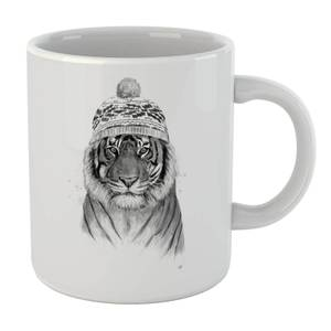 Balazs Solti Winter Tiger Mug