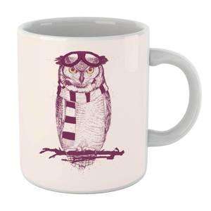 Balazs Solti Winter Owl Mug
