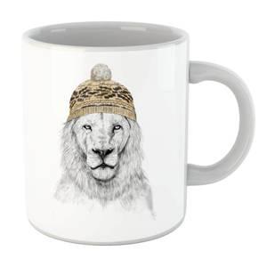 Balazs Solti Lion With Hat Mug