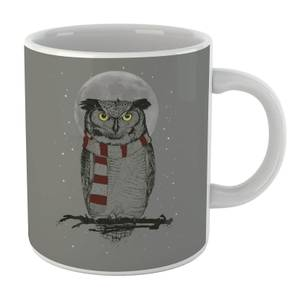 Balazs Solti Owl And Moon Mug