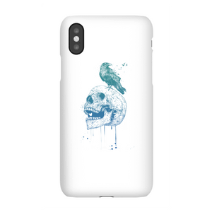 Balazs Solti Skull And Crow Phone Case for iPhone and Android
