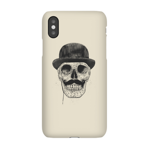 Balazs Solti Monocle Skull Phone Case for iPhone and Android