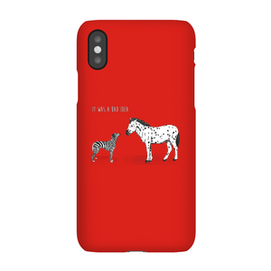 Balazs Solti It Was A Bad Idea Phone Case for iPhone and Android