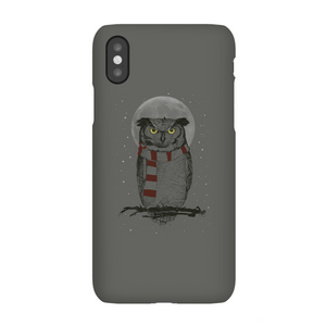 Balazs Solti Owl And Moon Phone Case for iPhone and Android