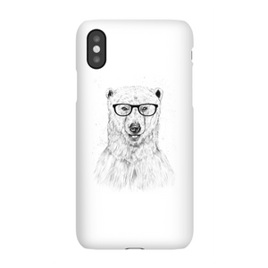 Balazs Solti Polar Bear And Glasses Phone Case for iPhone and Android