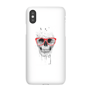 Balazs Solti Skull And Glasses Phone Case for iPhone and Android