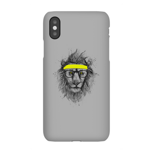 Balazs Solti Lion And Sweatband Phone Case for iPhone and Android