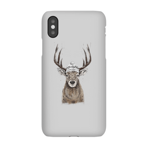 Balazs Solti Winter Deer Phone Case for iPhone and Android