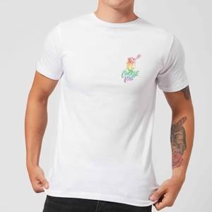 Native Shore Choose Love Rainbow Pocket Men's T-Shirt - White