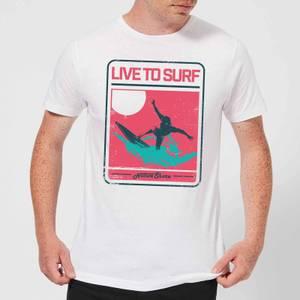 Native Shore Live To Surf Men's T-Shirt - White