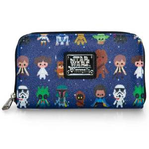Loungefly Star Wars Chibi Character AOP Print Wallet
