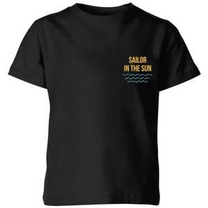 My Little Rascal Sailor In The Sun Kids' T-Shirt - Black