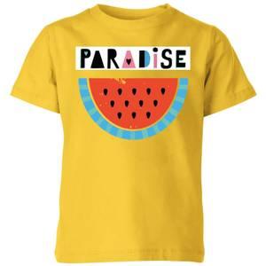 My Little Rascal Paradise Kids' T-Shirt - Yellow