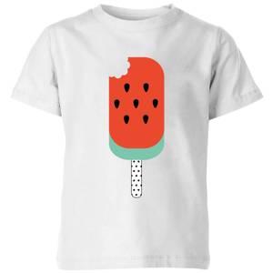 My Little Rascal Watermelon Lolly Kids' T-Shirt - White