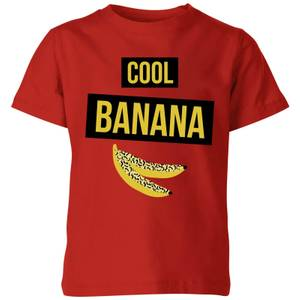 My Little Rascal Cool Banana Kids' T-Shirt - Red