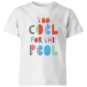 My Little Rascal Too Cool For The Pool Kids' T-Shirt - White