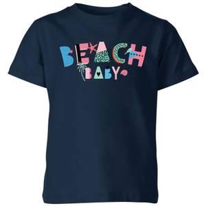 My Little Rascal Beach Baby Kids' T-Shirt - Navy