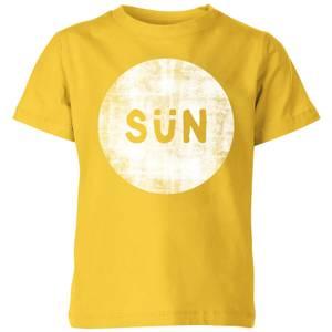 My Little Rascal Sun Kids' T-Shirt - Yellow