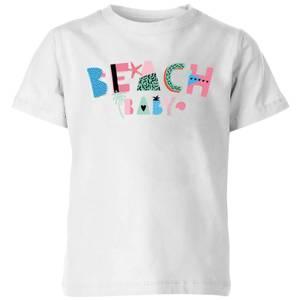 My Little Rascal Beach Baby Kids' T-Shirt - White