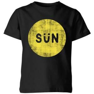 My Little Rascal Sun Kids' T-Shirt - Black