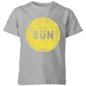 My Little Rascal Sun Kids' T-Shirt - Grey