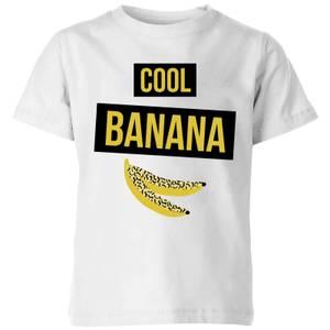 My Little Rascal Cool Banana Kids' T-Shirt - White