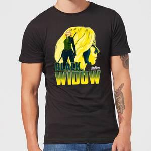 Avengers Black Widow T-shirt - Zwart