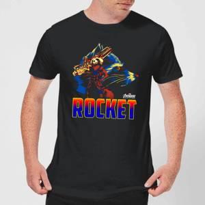Avengers Rocket Men's T-Shirt - Black