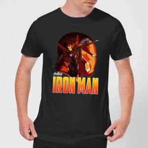 Avengers Iron Man Men's T-Shirt - Black
