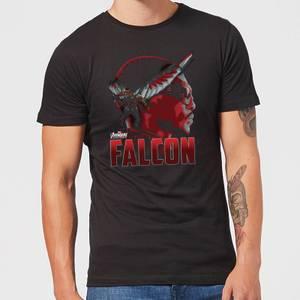 Avengers Falcon Men's T-Shirt - Black