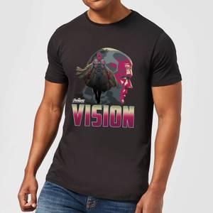 T-Shirt Homme Vision Avengers - Noir