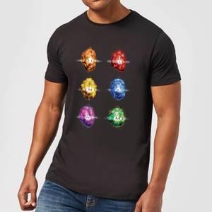 Avengers Infinity Stones Men's T-Shirt - Black