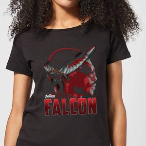 Avengers Falcon Women's T-Shirt - Black