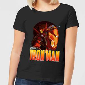 Camiseta Marvel Vengadores Iron Man - Mujer - Negro